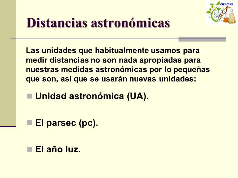 Distancias astronómicas