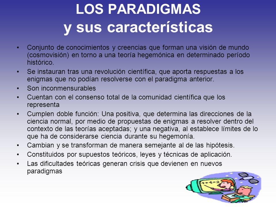 LOS PARADIGMAS y sus características