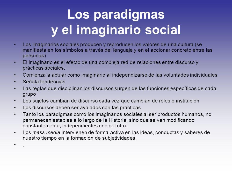 Los paradigmas y el imaginario social