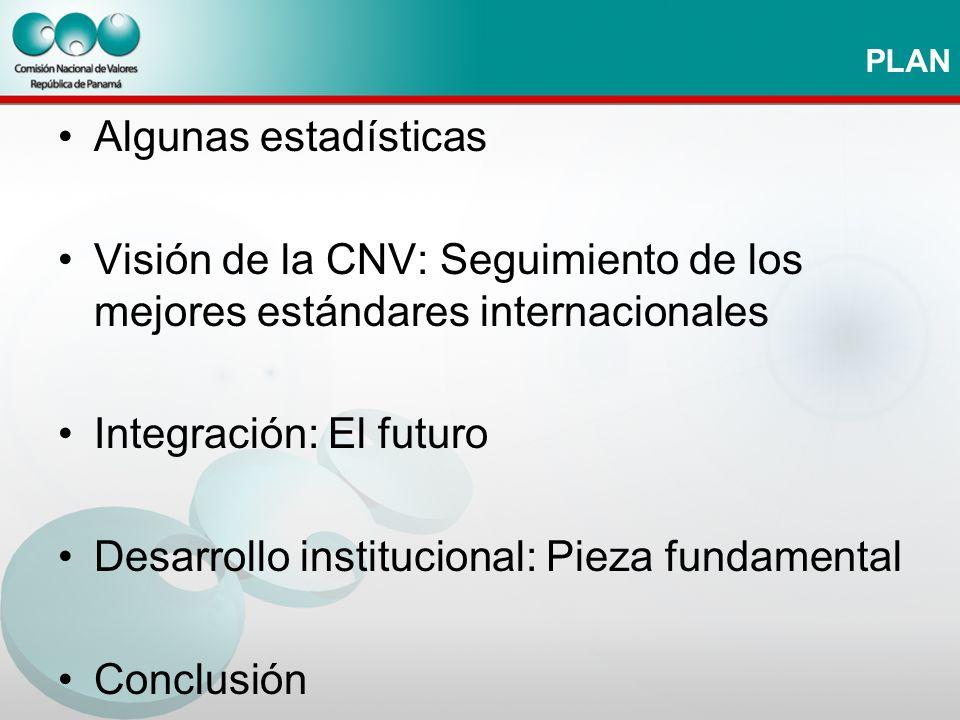 Integración: El futuro Desarrollo institucional: Pieza fundamental