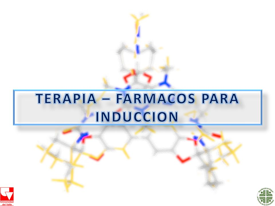 TERAPIA – FARMACOS PARA INDUCCION