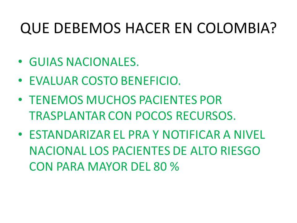 QUE DEBEMOS HACER EN COLOMBIA