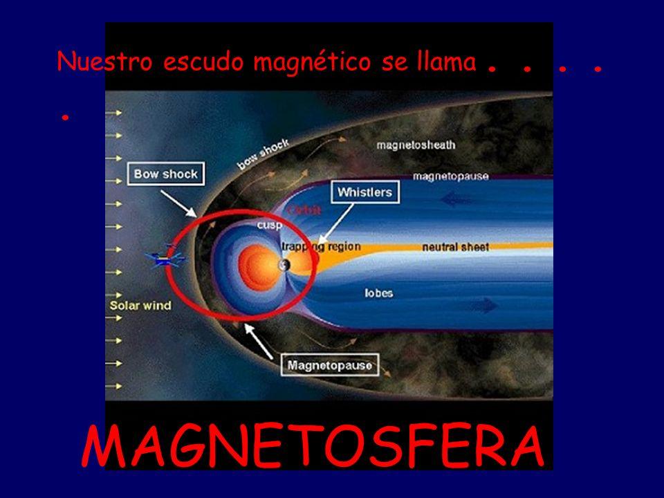 Nuestro escudo magnético se llama . . . . .