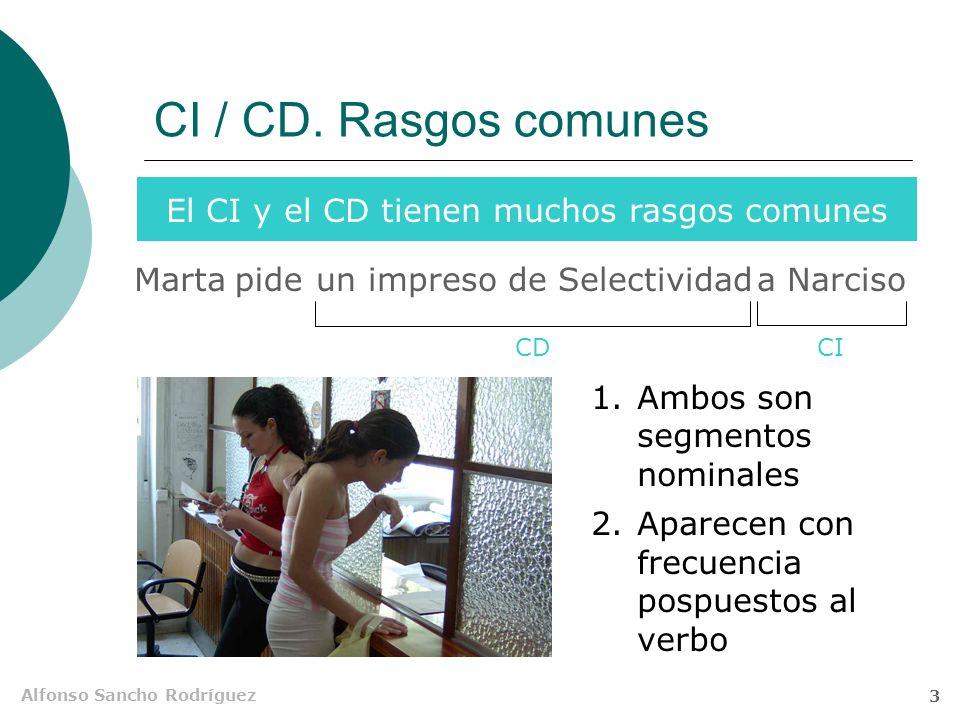 El CI y el CD tienen muchos rasgos comunes