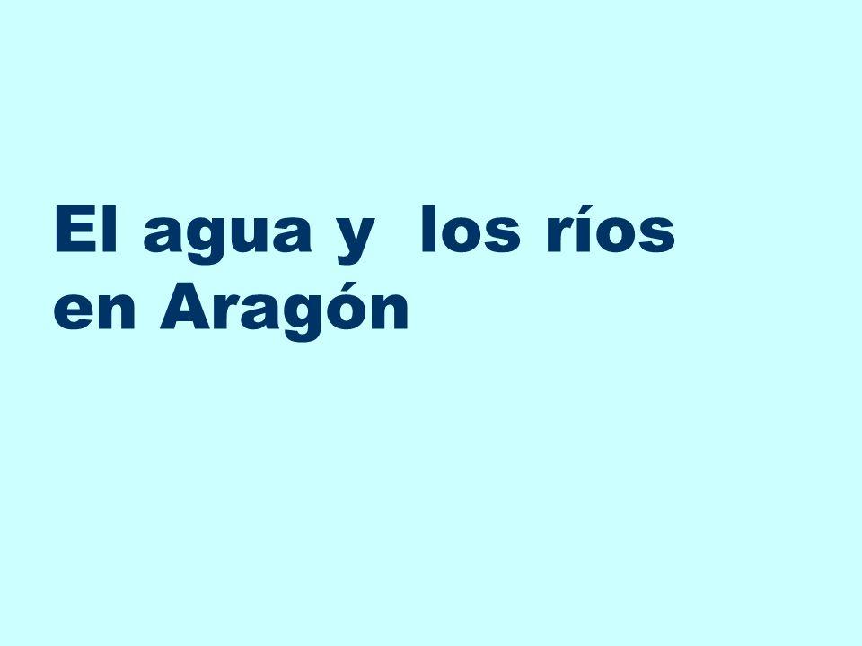 El agua y los ríos en Aragón