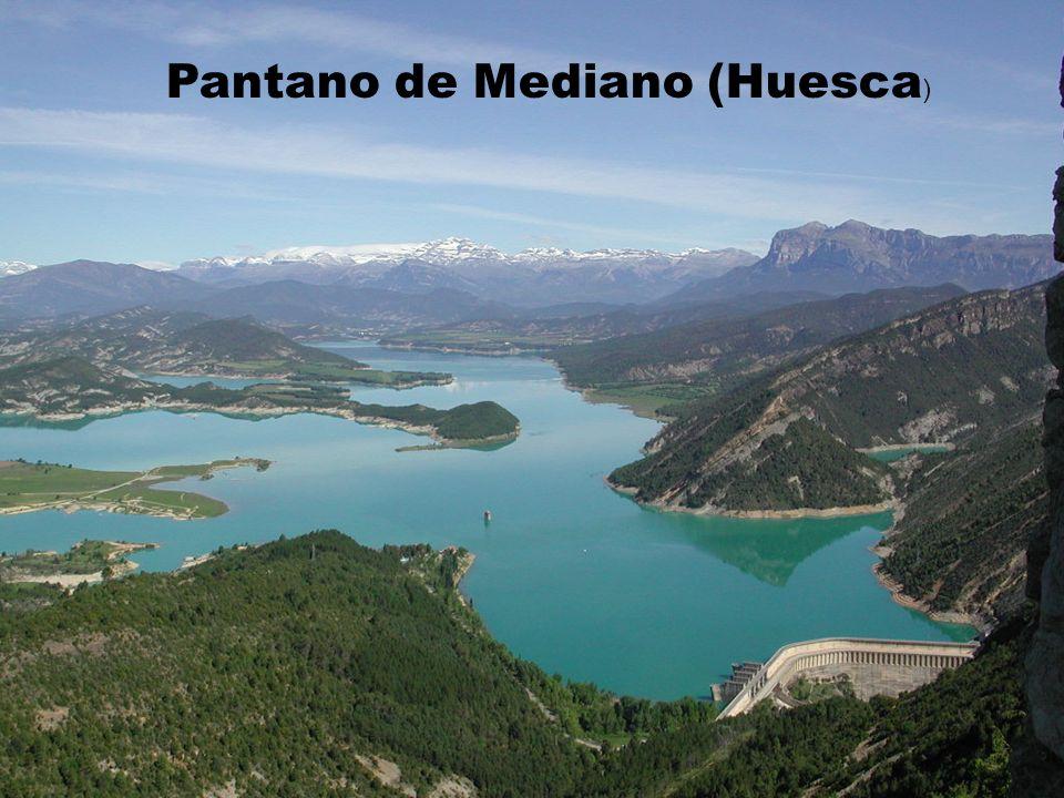 Pantano de Mediano (Huesca)