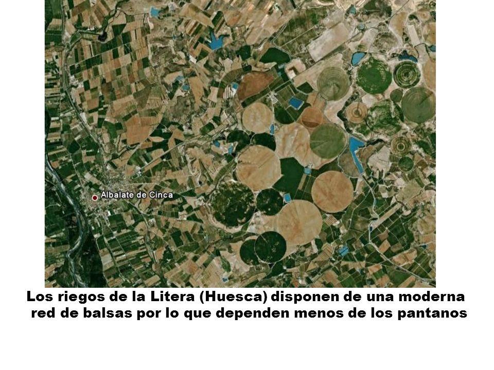Los riegos de la Litera (Huesca) disponen de una moderna