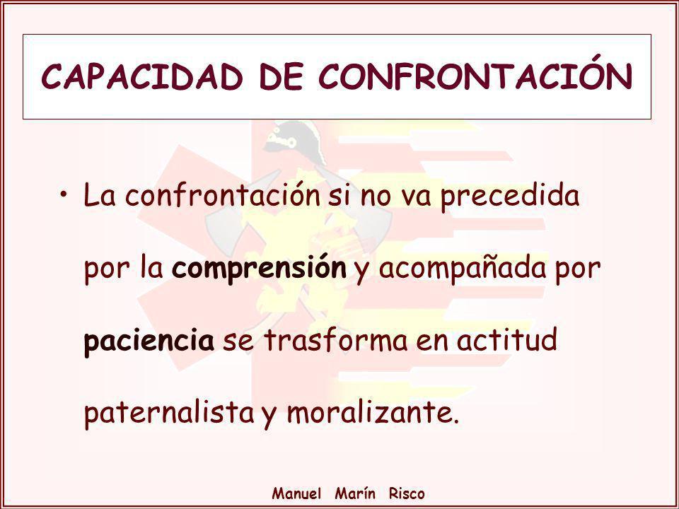CAPACIDAD DE CONFRONTACIÓN