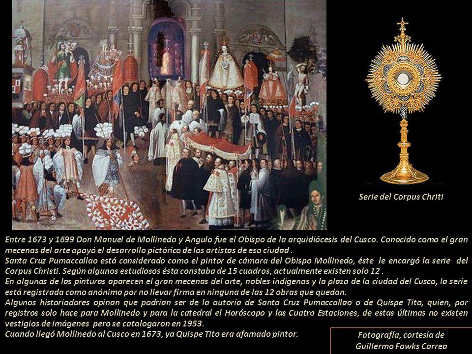 Serie del Corpus Chriti Fotografía, cortesía de Guillermo Fowks Correa