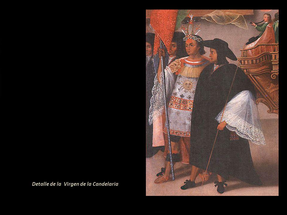 Detalle de la Virgen de la Candelaria