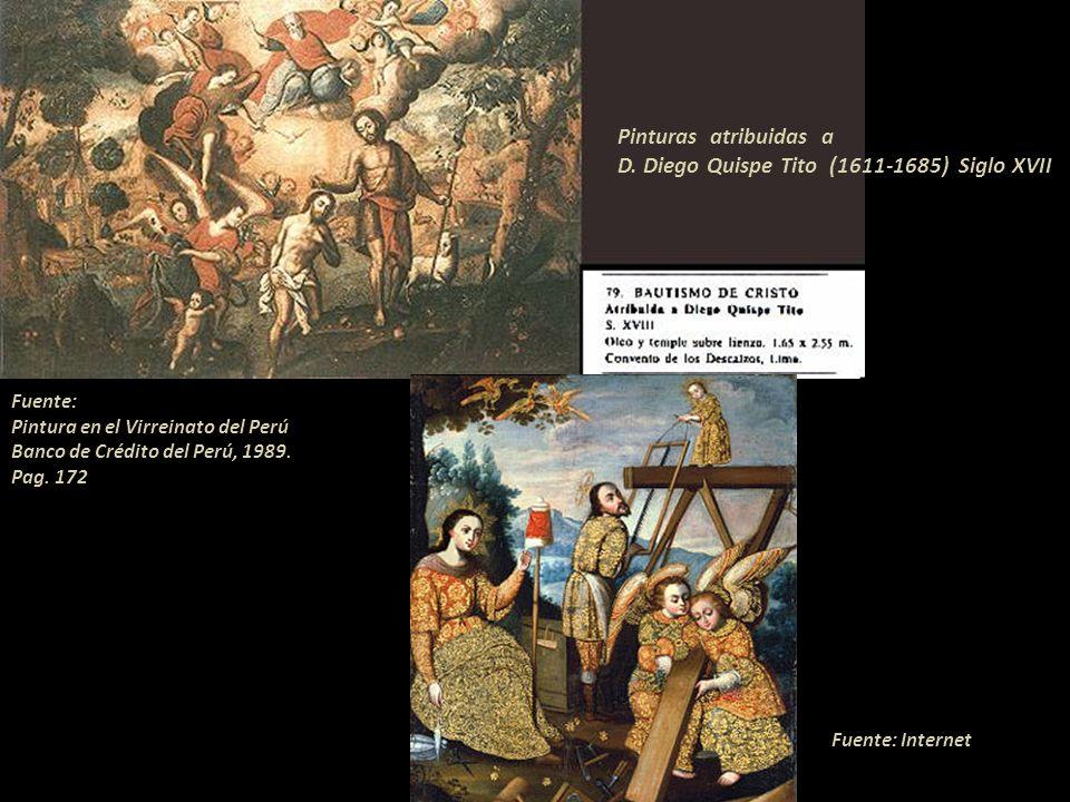 D. Diego Quispe Tito (1611-1685) Siglo XVII