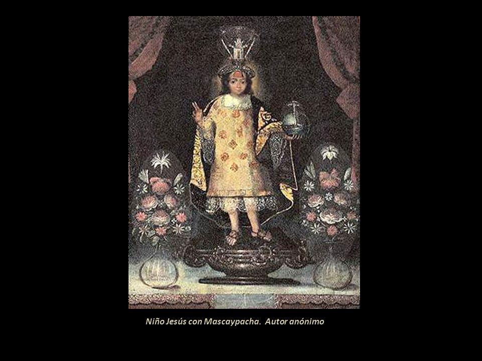 Niño Jesús con Mascaypacha. Autor anónimo