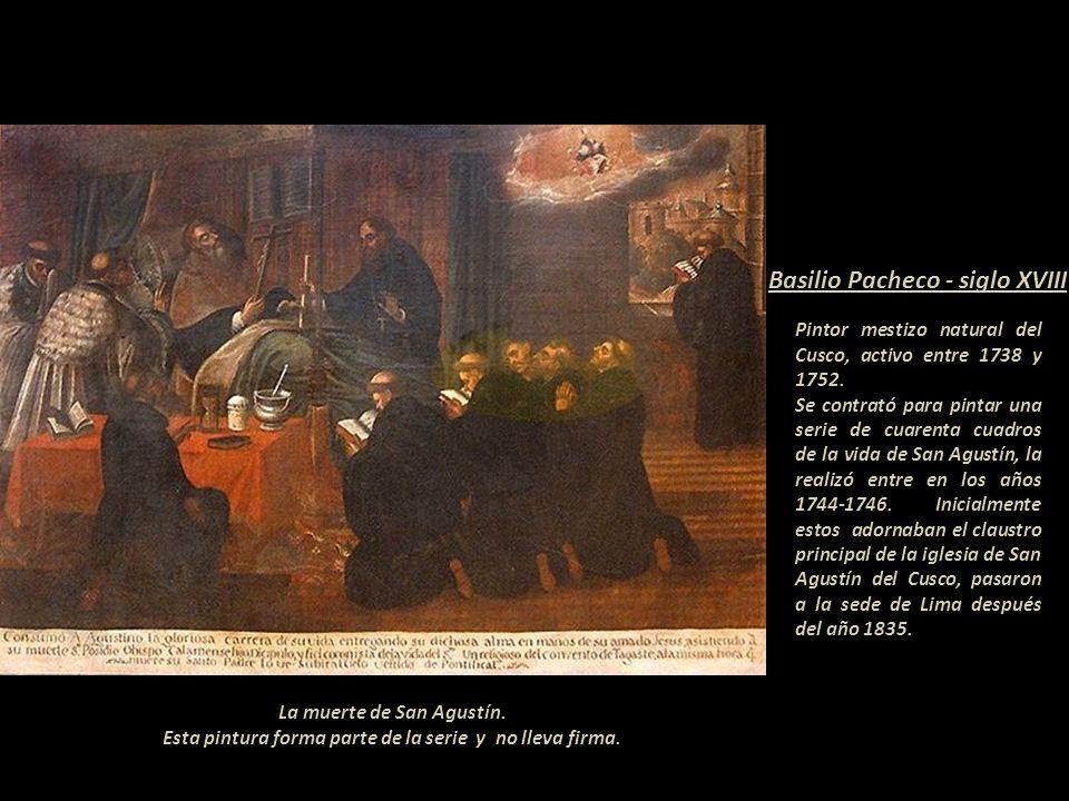 Basilio Pacheco - siglo XVIII