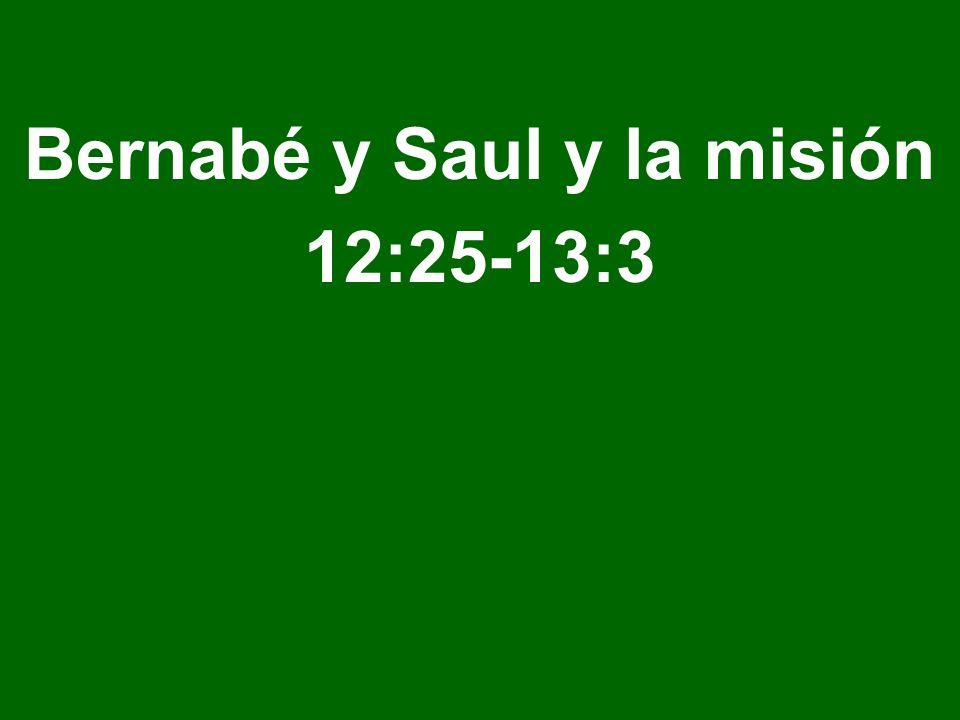 Bernabé y Saul y la misión