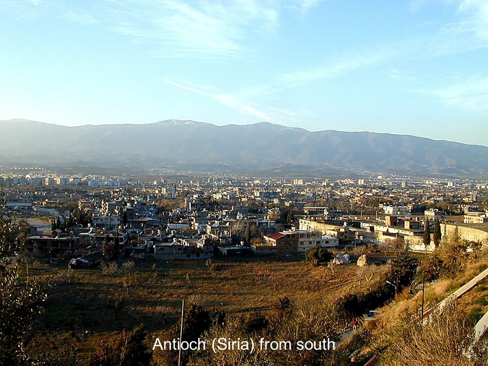 Antioch (Siria) from south