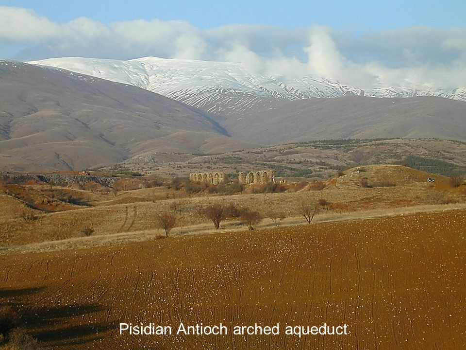 Pisidian Antioch arched aqueduct