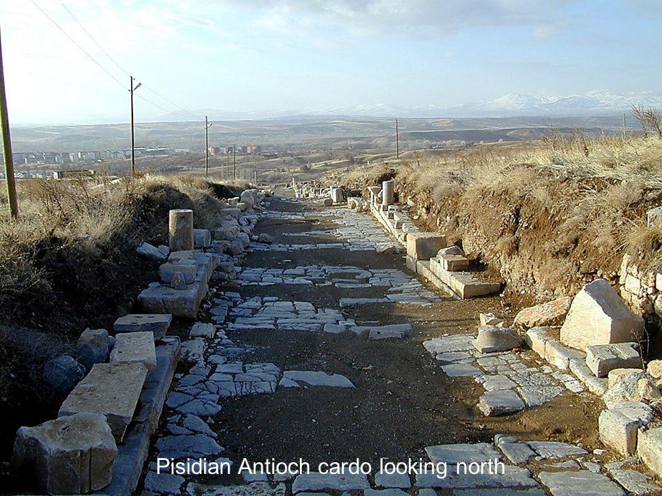 Pisidian Antioch cardo looking north
