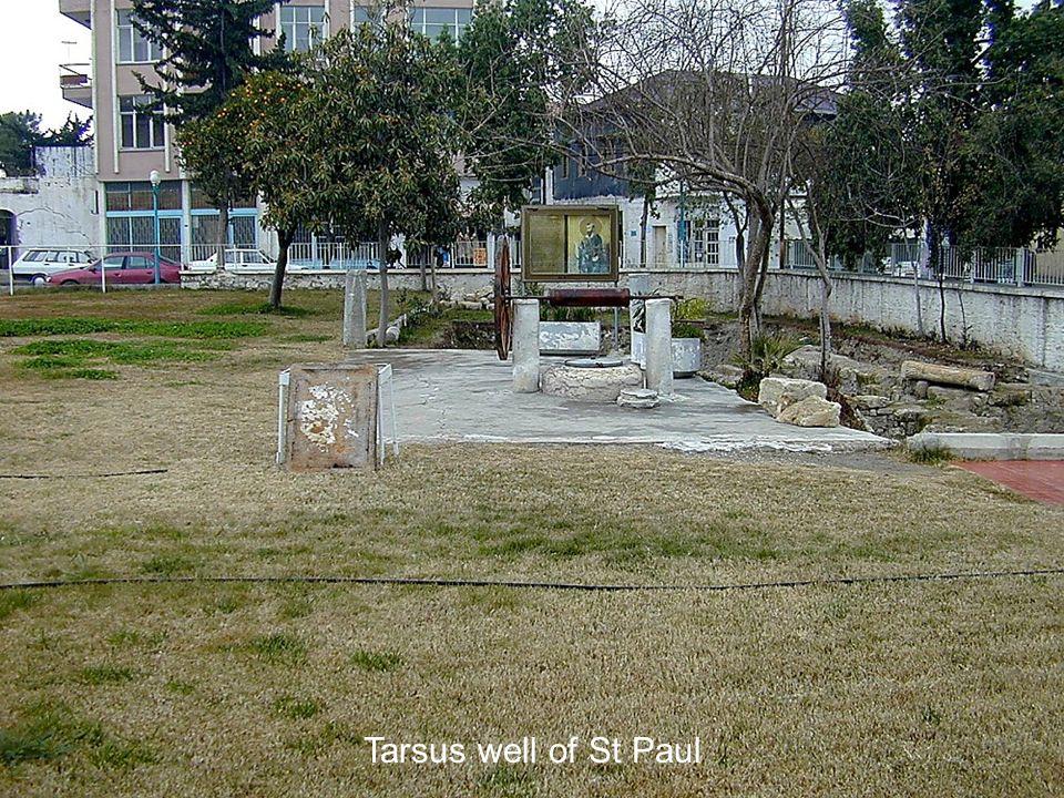 Tarsus well of St Paul Tarsus well of St Paul