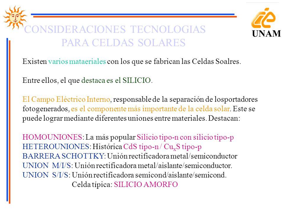 PARA CELDAS SOLARES UNAM