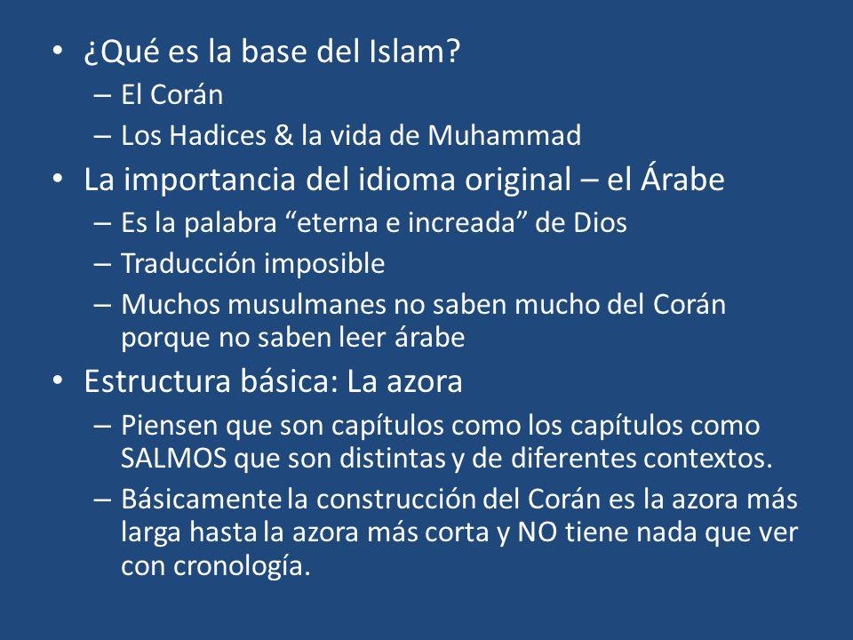 ¿Qué es la base del Islam