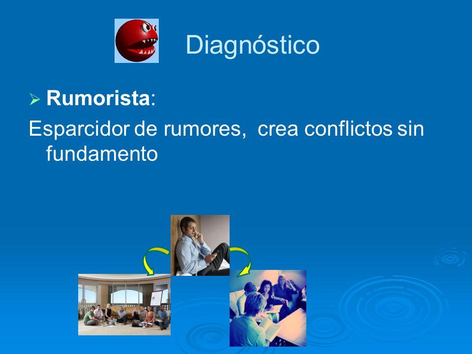 Diagnóstico Rumorista: