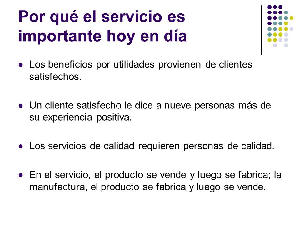 Por qué el servicio es importante hoy en día