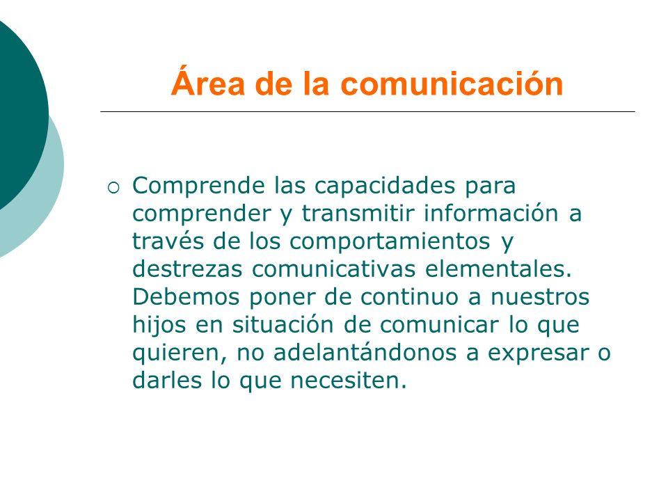 Área de la comunicación