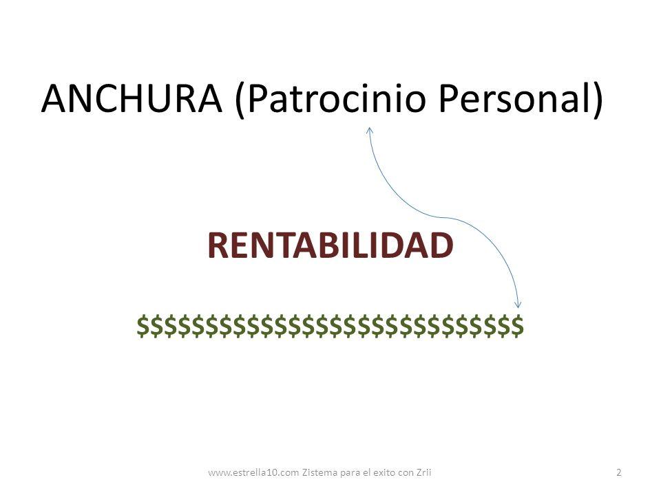 ANCHURA (Patrocinio Personal)