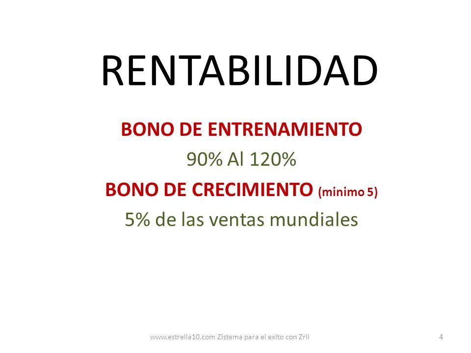 BONO DE CRECIMIENTO (minimo 5)