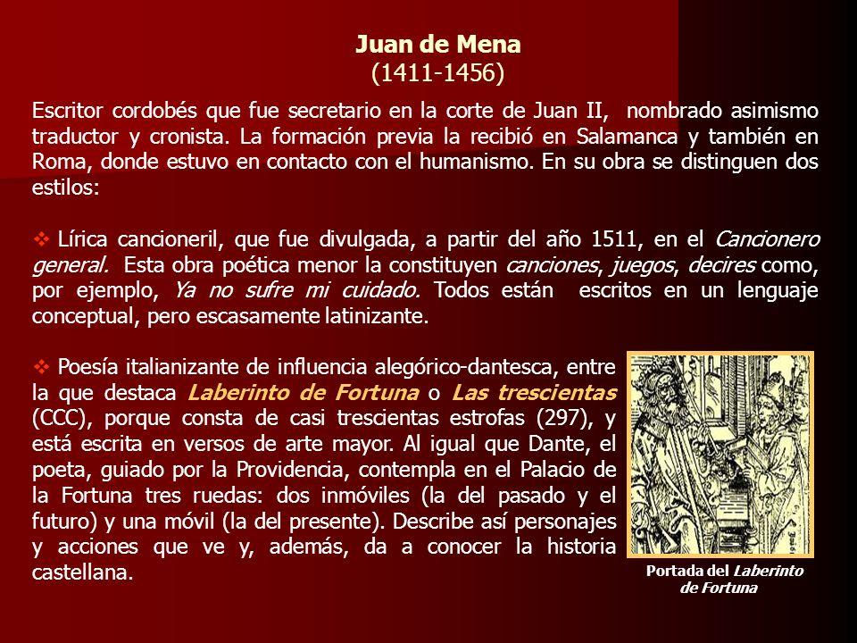 Juan de Mena(1411-1456)