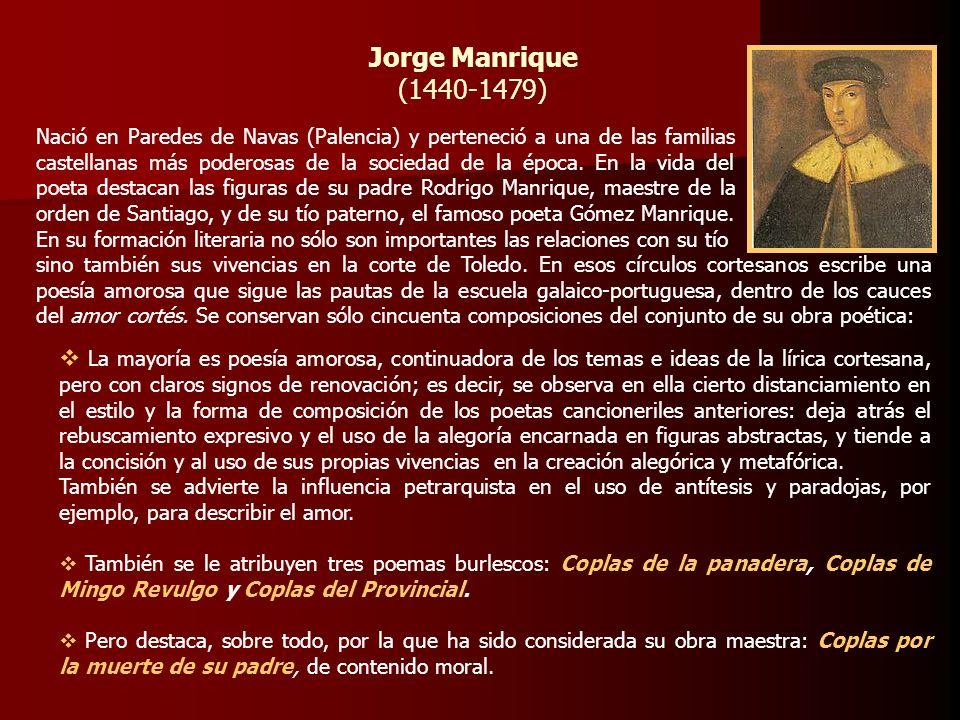 Jorge Manrique(1440-1479)