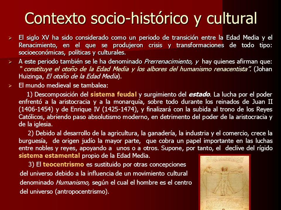 Contexto socio-histórico y cultural