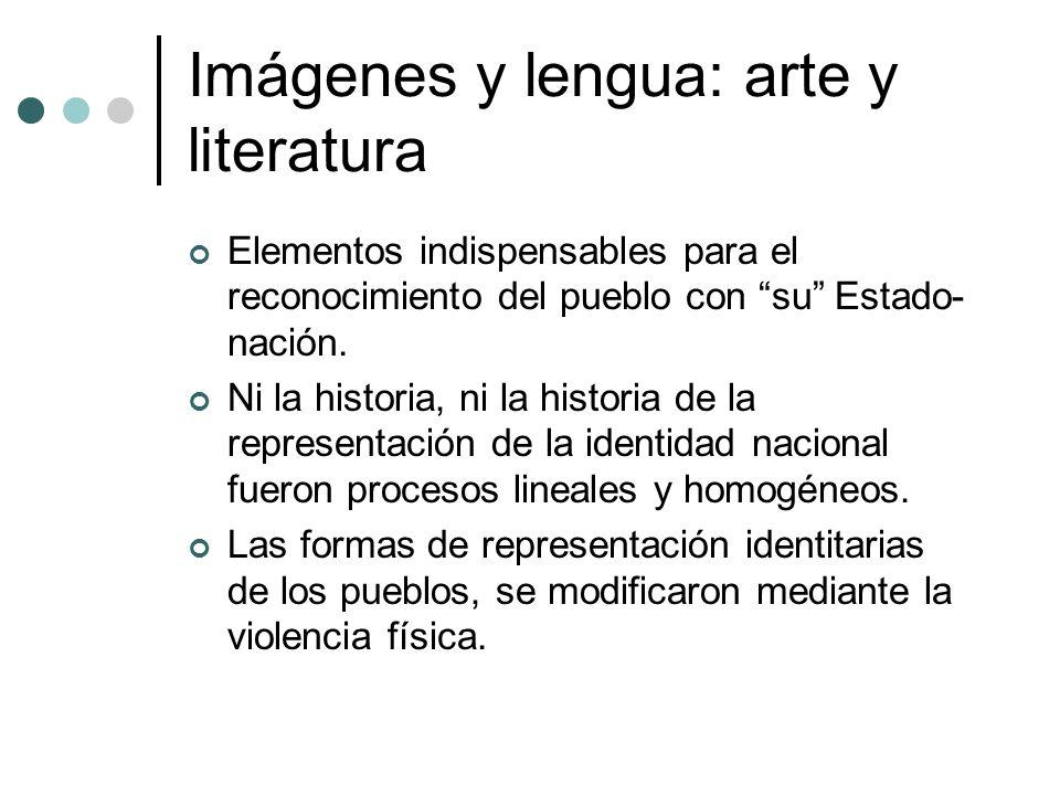 Imágenes y lengua: arte y literatura