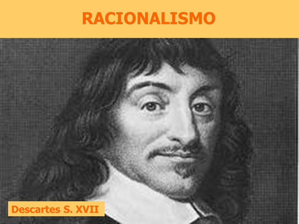 RACIONALISMO Descartes S. XVII