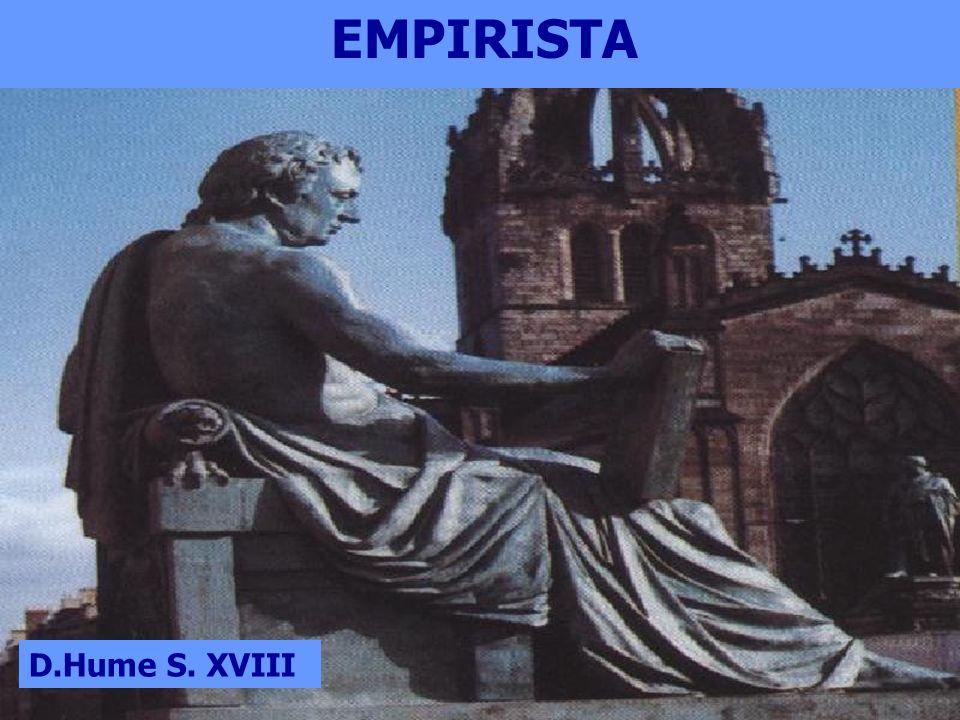 EMPIRISTA D.Hume S. XVIII