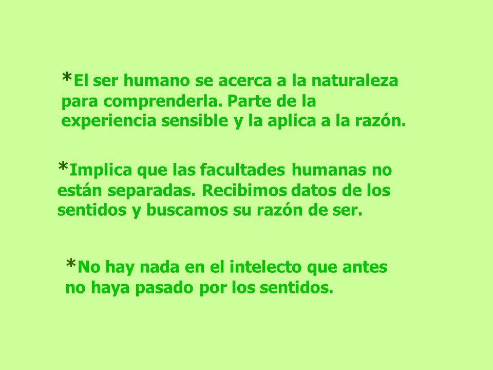 El ser humano se acerca a la naturaleza para comprenderla
