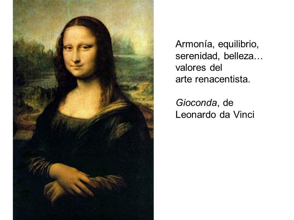 Armonía, equilibrio, serenidad, belleza… valores del arte renacentista