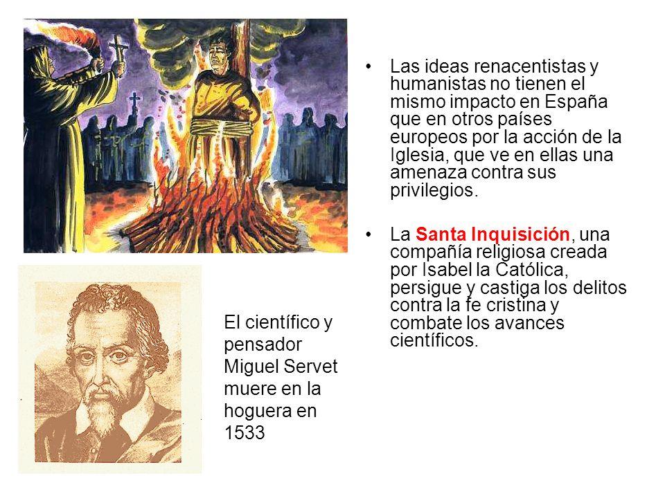 El científico y pensador Miguel Servet muere en la hoguera en 1533