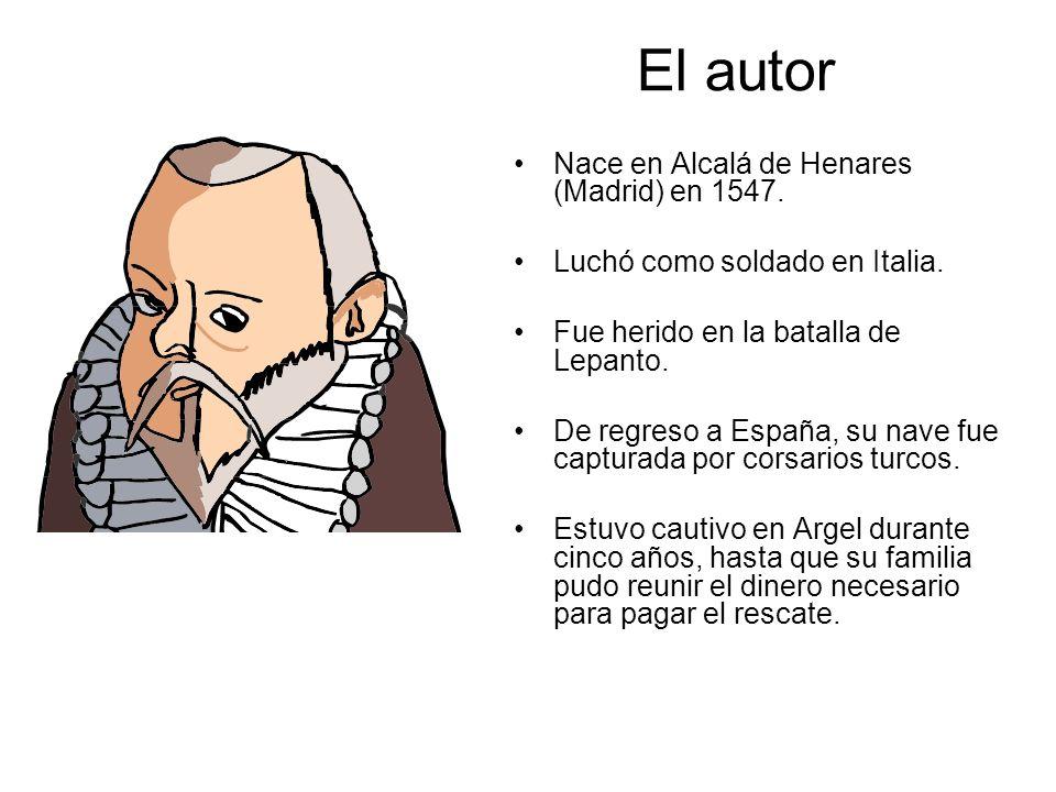 El autor Nace en Alcalá de Henares (Madrid) en 1547.
