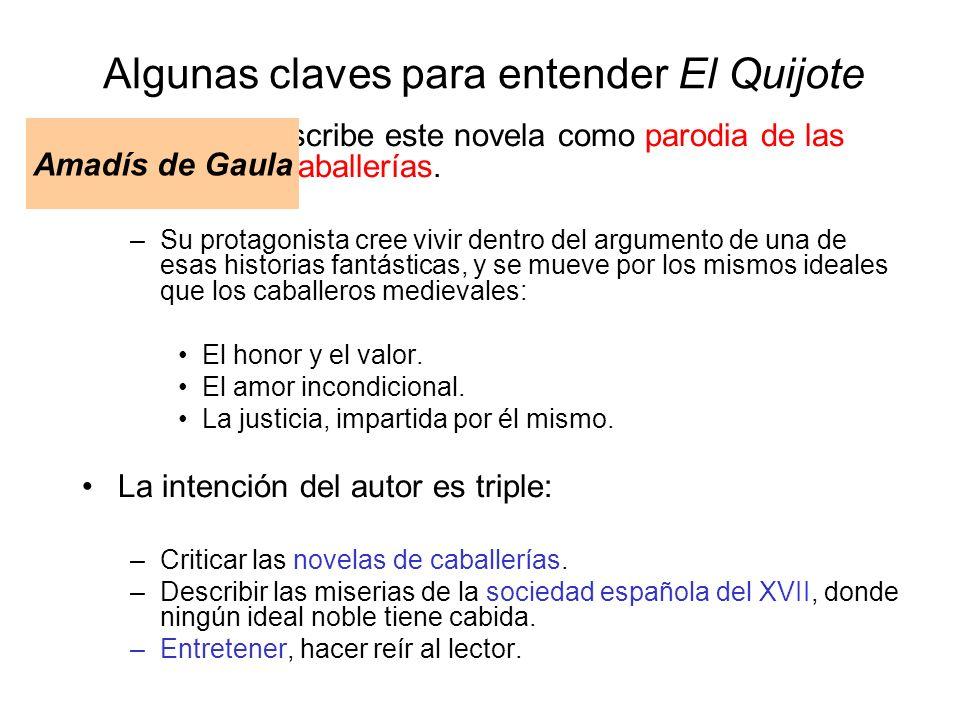 Algunas claves para entender El Quijote