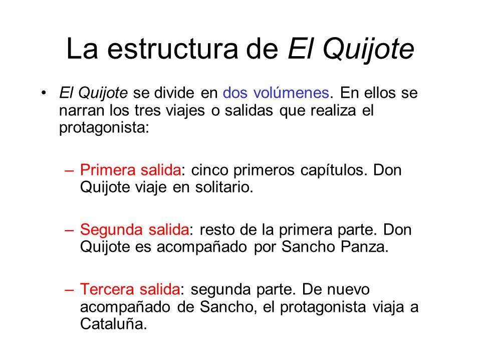 La estructura de El Quijote