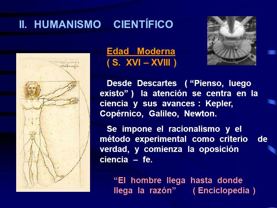 II. HUMANISMO CIENTÍFICO