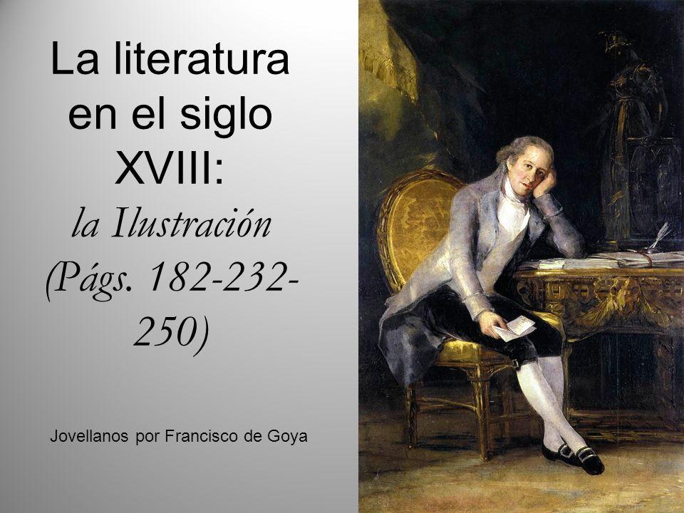 La literatura en el siglo XVIII: