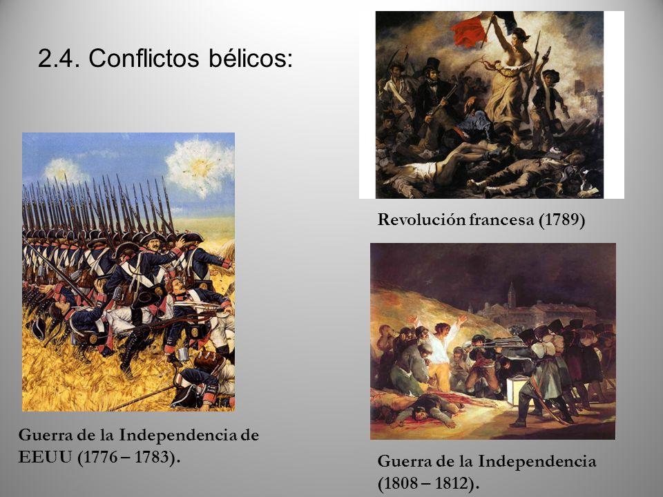 2.4. Conflictos bélicos: Revolución francesa (1789)