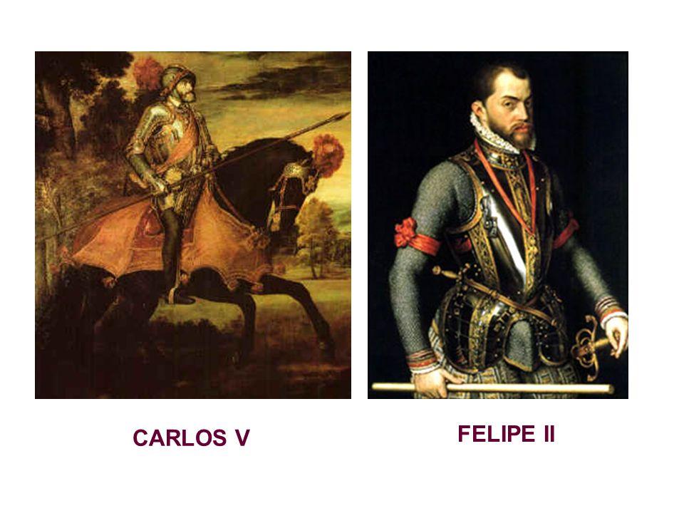 CARLOS V FELIPE II