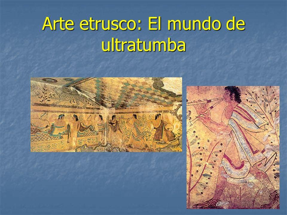 Arte etrusco: El mundo de ultratumba