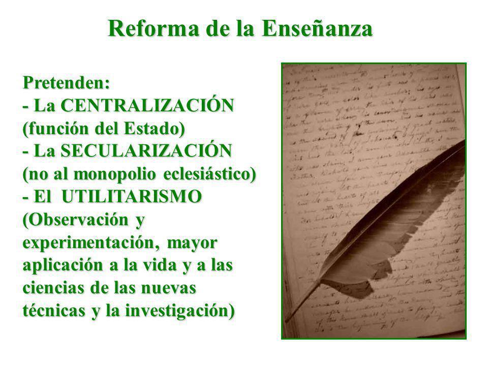 Reforma de la Enseñanza