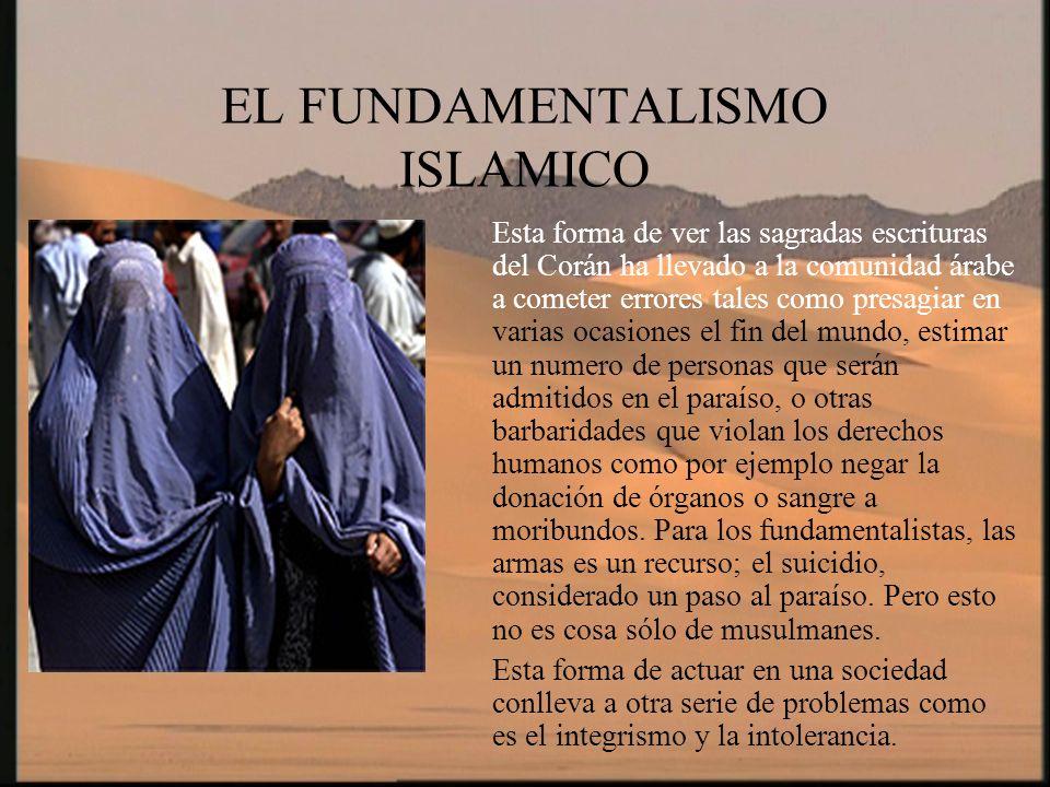 EL FUNDAMENTALISMO ISLAMICO