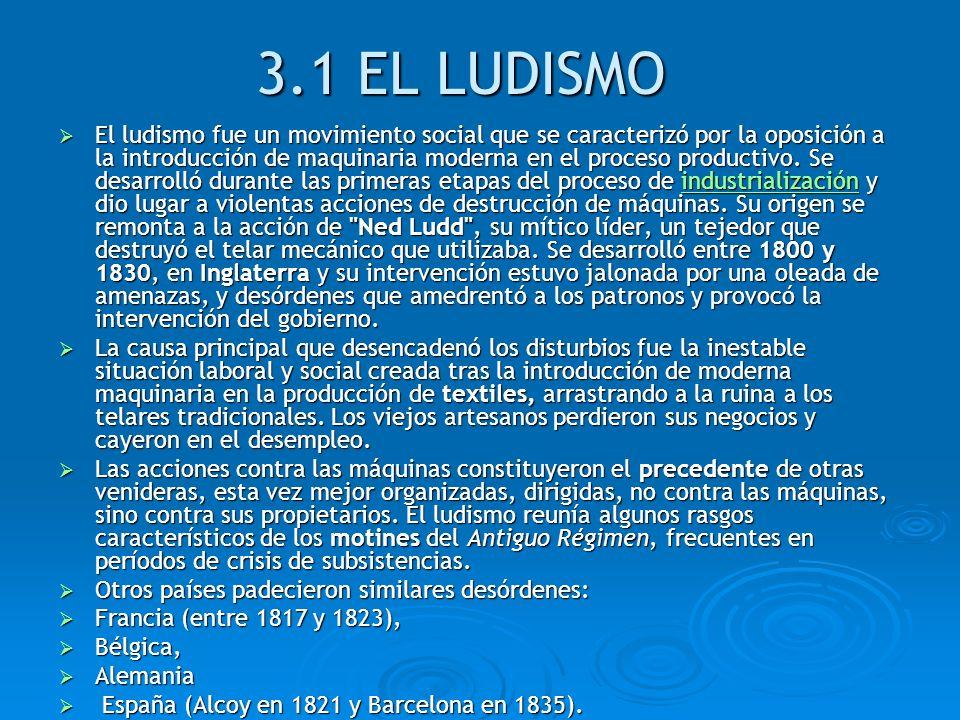 3.1 EL LUDISMO