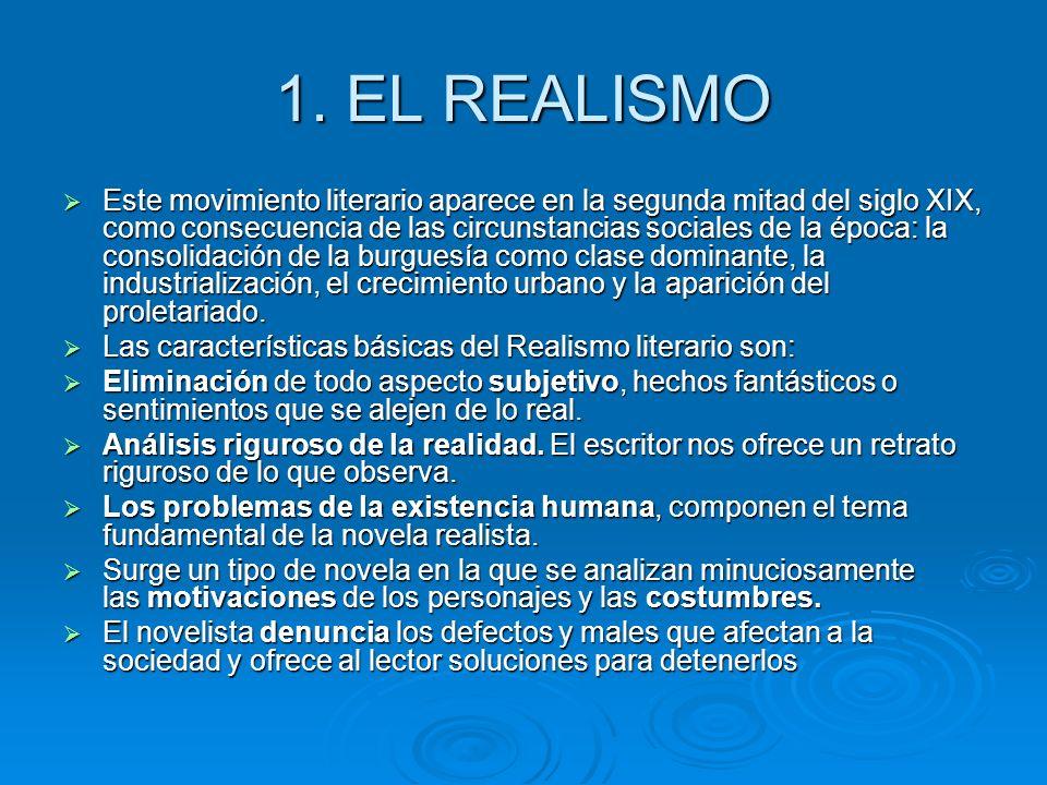 1. EL REALISMO